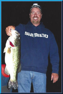 First Night Trip 7lb largemouth bass Clear Lake May 2014