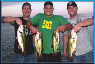 Three Happy Guys - Clear Lake